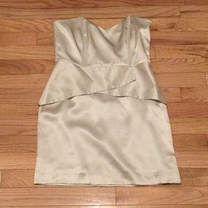 Silk mason dress